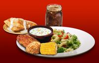 Dixie Stampede Vegetarian Meal